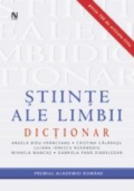 Dictionar de stiinte ale limbii - Angela Bidu-Vranceanu