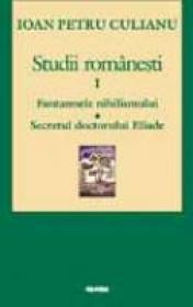 Studii Romanesti - I. P. Culianu