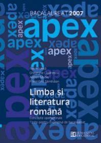 Bacalaureat 2007. Limba si literatura romana. Teste pentru bacalaureat. Concepte operationale - ***