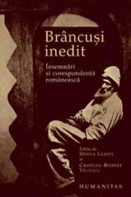 Brancusi inedit. Insemnari si corespondenta romaneasca - Lemny Doina; Velescu Cristian Robert (ed.)