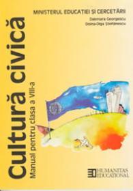 Cultura civica. Manual cl a VIII-a - Georgescu Dakmara; Stefanescu Doina-Olga