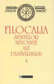 Filocalia sfintelor nevointe ale desavirsirii IV - Staniloae Dumitru