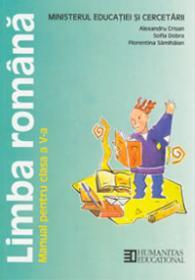 Limba romana. Manual pentru cl a V-a - Crisan Alexandru Dobra Sofia Samihaian Florentin