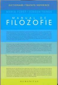 Manual de filozofie - Furst Maria