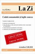 Codul consumului si legile conexe (actualizat la 05.08.2010). Editia 2. Cod 405 -