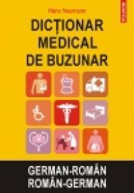 Dictionar medical de buzunar german-roman/roman-german - Hans Neumann