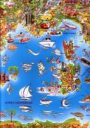 Harta Europei pentru copii -