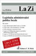 Legislatia administratiei publice locale (actualizat 05.09.2010). Cod 411 - Editie coordonata de prof. univ. dr. Dana Tofan