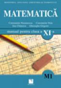 Matematica (M1). Manual pentru clasa a XI-a - Constantin Nastasescu, Constantin Nita, Ion Chitescu, Gheorghe Grigore