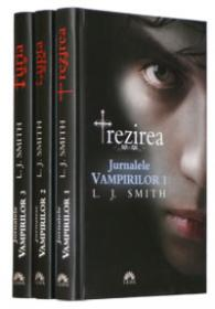 Seria Jurnalele Vampirilor (vol. 1, 2, 3)  - L.j. Smith