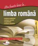 Stiu foarte bine la... Limba romana, clasa a III-a - Cleopatra Mihailescu , Tudora Pitila