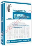 Buletinul jurisprudentei. Curtea de apel Cluj. Repertoriu anual. Sectia civila, de munca si asigurari sociale, pentru minori si familie 2009 - ***