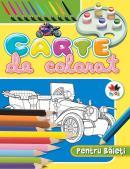 Carte de colorat pentru baieti, vol. 1 -