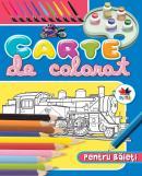 Carte de colorat pentru baieti, vol. 2 -