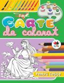 Carte de colorat pentru fetite, vol. 1 -
