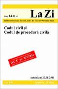 Codul civil si Codul de procedura civila (actualizat la 20.05.2011). Cod 440 - Editie coordonata de conf. univ. dr. Baias Flavius-Antoniu