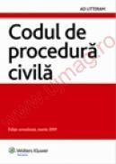 Codul de procedura civila - Editie actualizata, martie 2009 -