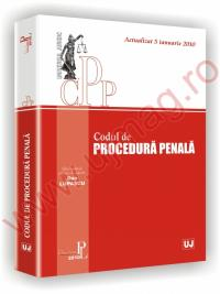 Codul de procedura penala - Ad Litteram. Actualizat 5 ianuarie 2010 -
