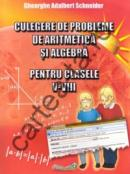 Culegere de probleme de aritmetica si algebra pentru clasele V- VIII - Gheorghe Adalbert Schneider