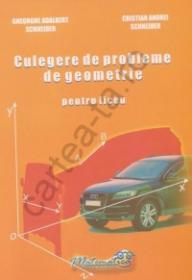 Culegere de probleme de geometrie pentru liceu - Gheorghe Adalbert Schneider ; Cristian Andrei Schnider