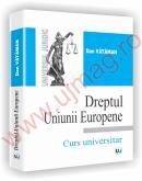 Dreptul Uniunii Europene - Curs universitar - Dan Vataman