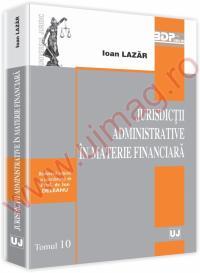 Jurisdictii administrative in materie financiara - Ioan Lazar