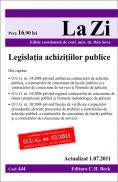 Legislatia achizitiilor publice. Cod 444   Actualizata la 01.07.2011. Editia a 6-a - Editie coordonata de conf. univ. dr. Sova Dan
