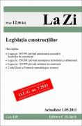 Legislatia constructiilor (actualizat la 1.05.2011). Cod 438   Editia 8 -