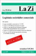 Legislatia societatilor comerciale (actualizat la 05.05.2011). Cod 439   Editia 12 - Editie coordonata de prof. univ. dr. Angheni Smaranda