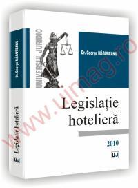 Legislatie hoteliera - George Magureanu Poptean