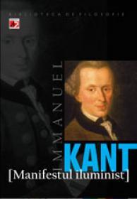 MANIFESTUL ILUMINIST - KANT, Immanuel