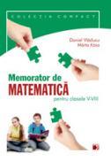 MEMORATOR DE MATEMATICA PENTRU CLASELE V-VIII - KASA, Marta; VLADUCU, Daniel