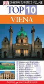 Top 10. VIENA Ghid turistic vizual - Dorling Kindersley