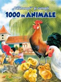 """""""Calatoresti"""" si cunosti 1000 de animale - Pascale Vedere, Philippe Salembier"""