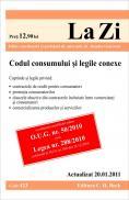Codul consumului si legile conexe (actualizat la 20.01.2011). Cod 423 - Editie coordonata de asist. univ. dr. Juanita Goicovici