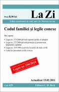 Codul familiei si legile conexe (actualizat la 15.02.2011). Cod 429 - Editie ingrijita de conf. univ. dr. Avram Marieta