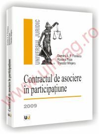 Contractul de asociere in participatiune - Dumitru A. P. Florescu, Roxana Popa, Theodor Mrejeru
