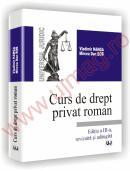 Curs de drept privat roman - Editia a III-a - Vladimir Hanga, Mircea Dan Bob