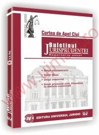 Curtea de Apel Cluj. Buletinul jurisprudentei in materie comerciala, de contencios administrativ si fiscal -