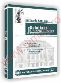 Curtea de Apel Cluj. Buletinul jurisprudentei in materie penala -