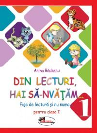 Din lecturi, hai sa-nvatam... Fise de lectura si nu numai pentru clasa I - Anina Badescu