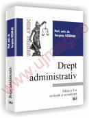 Drept administrativ - Editia a V-a,revazuta si adaugita - Verginia Vedinas