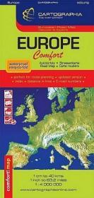 Europa - Harta Laminata Confort - ***