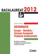 GEOGRAFIE. BACALAUREAT 2012 - Octavian Mandrut