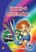 Haideti sa coloram! Carte de colorat pentru baieti - ***