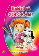 Haideti sa coloram! Carte de colorat pentru fetite - ***