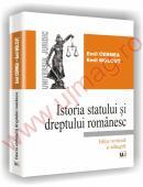 Istoria statului si dreptului romanesc - Editie revazuta si adaugita - Emil Cernea  , Emil Molcut