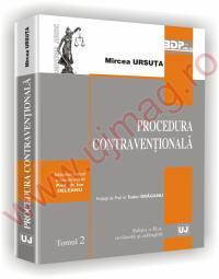 Procedura contraventionala editia a II-a - Mircea Ursuta