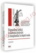 Raspunderea juridica in domeniul prelevarii si transplantului in dreptul roman - Horia Diaconescu, Sevastian Cercel, Razvan Daniel Dita, Gabriel Gazdovici