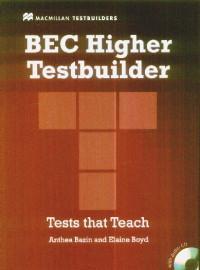 BEC Higher Testbuilder+CD - Anthea Bazin,elaine Boyd